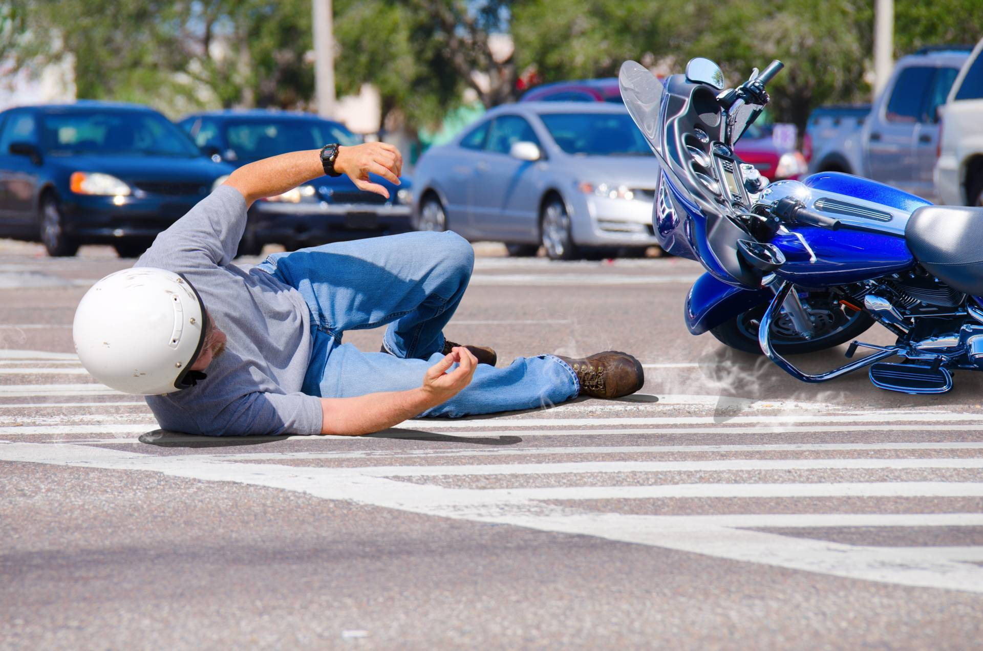 Injured in an Atlanta Motorcycle Accident call the Angell Law firm for a free consultation, today!