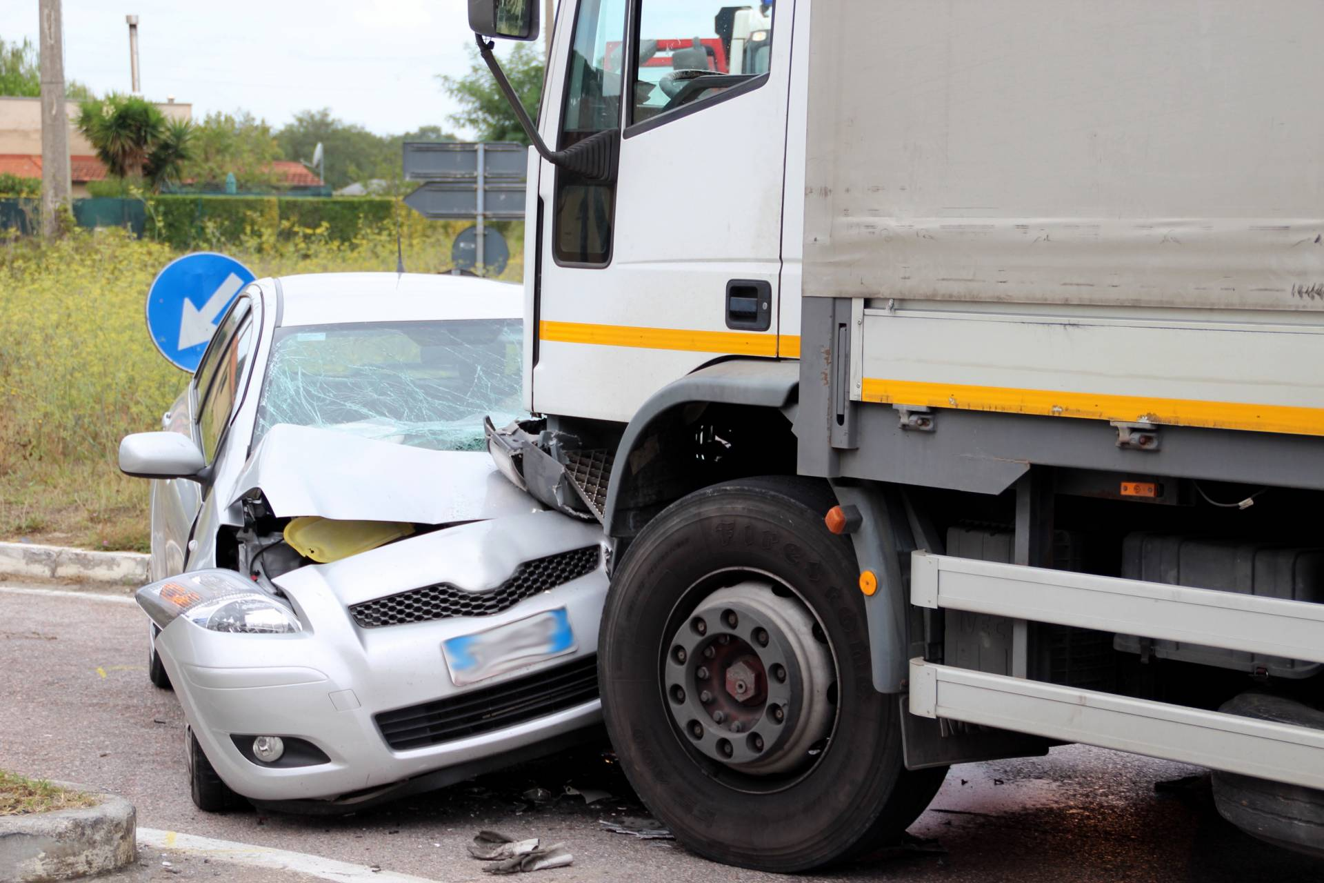 Injured in a truck accident? Contact us today!